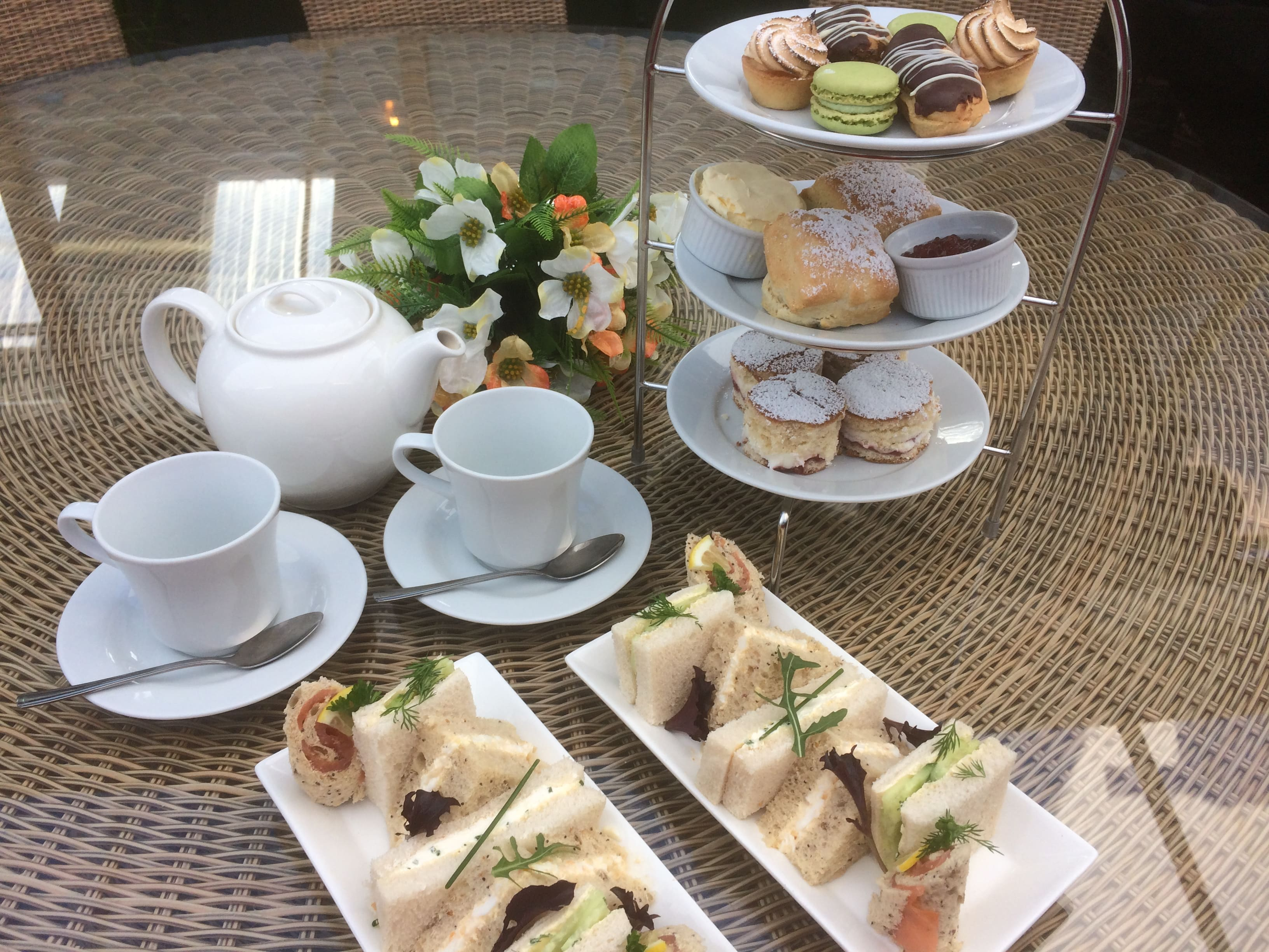 Afternoon Tea Sapcote Garden Centre