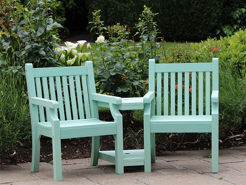 Wooden Garden Furniture Love Seats garden furniture from sapcote garden centre in leicester