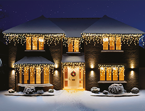 Christmas lights best range of christmas lights in leicester snowing icicle christmas lights aloadofball Choice Image