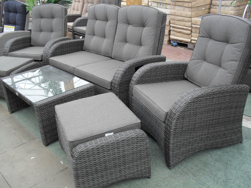 Reclining Rattan Furniture Premium Quality Rattan Sets