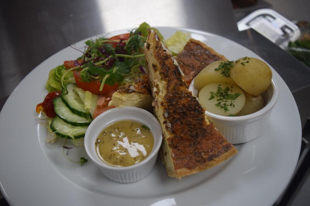 Sharnford Garden Centre Cafe Quiche