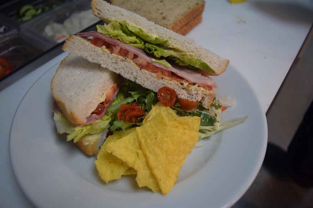 Sharnford Garden Centre Cafe Sandwich Ham And Mustard